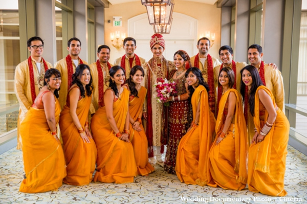 indian-wedding-party-yellow-lengha
