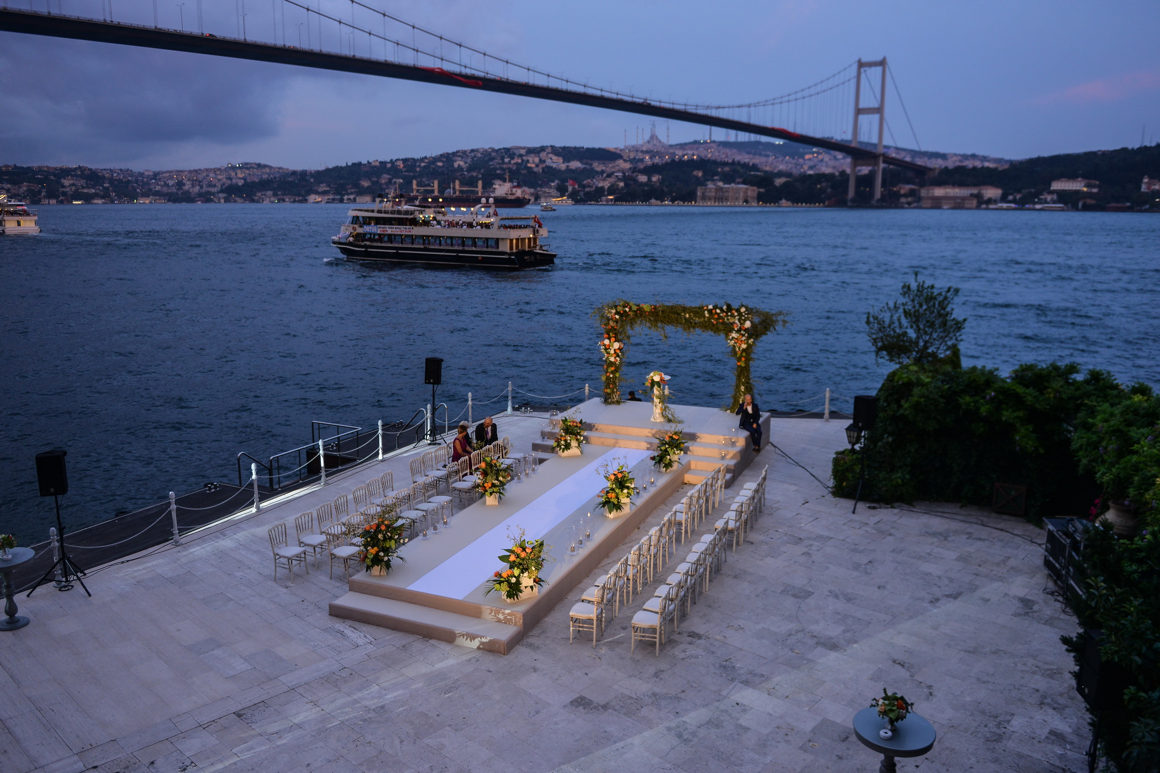 ESMA SULTAN MANSION İSTANBUL İRANİAN WEDDİNG